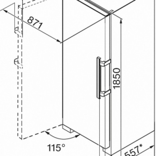 OUTLET Brasov Congelator  FN 28262 EDT/ CS