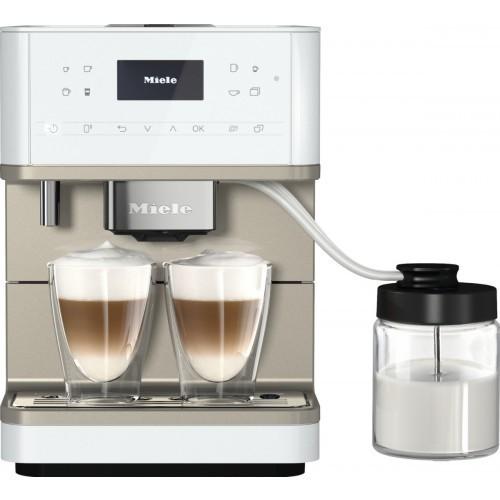 Cafetiere incorporabile si freestanding Espressor CM 6360 MilkPerfection white