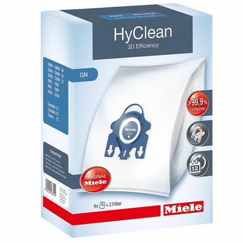 "Filtre si Saci de praf Miele Set 4 saci tip ""GN"" - HyClean 3D - 4,5litri"