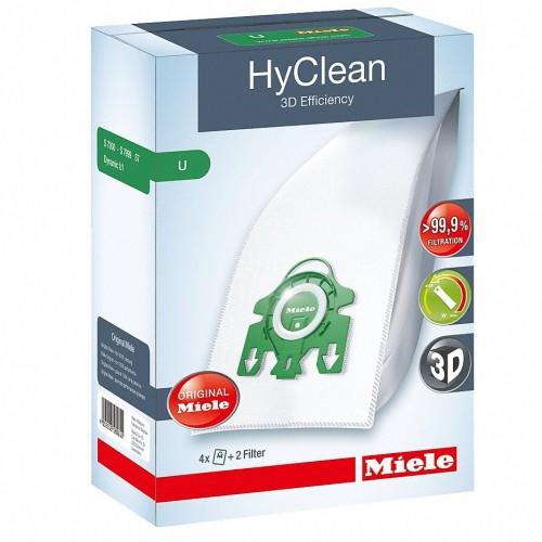 Saci de praf si filtre Miele Set 4 saci HyClean U 3D