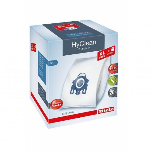 "Filtre si Saci de praf Miele Set XL tip ""GN"" - 8 saci HyClean 3D"