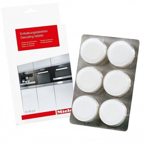 Produse pentru intretinerea cafetierelor Tablete pentru decalcifiere expresoare/cuptoare