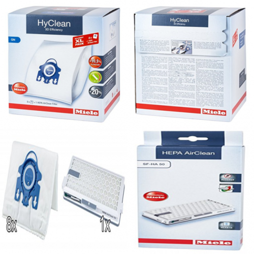 PROMO  Pachet saci XL tip G/N + filtru HEPA